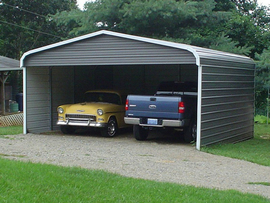 Carports & Sheds for Protection from the elements