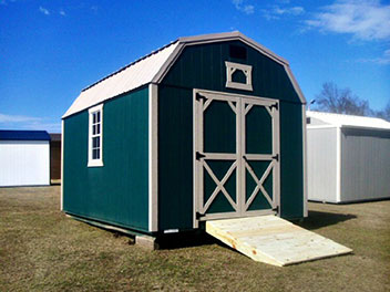 Store Stuff in metal sheds -  20-YEAR FLOORING, SIDING AND ROOF WARRANTY
